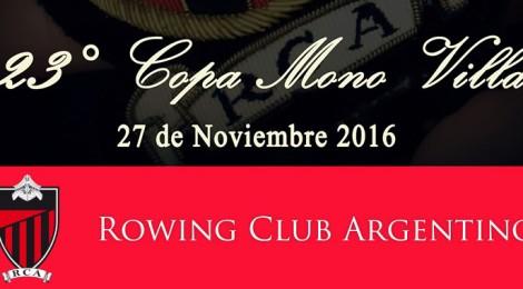 "Copa ""Mono Villa"" XXIII Edición"